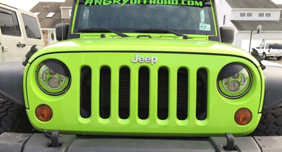 Installing Halo Headlights Jeep Wrangler - Lights Design Ideas