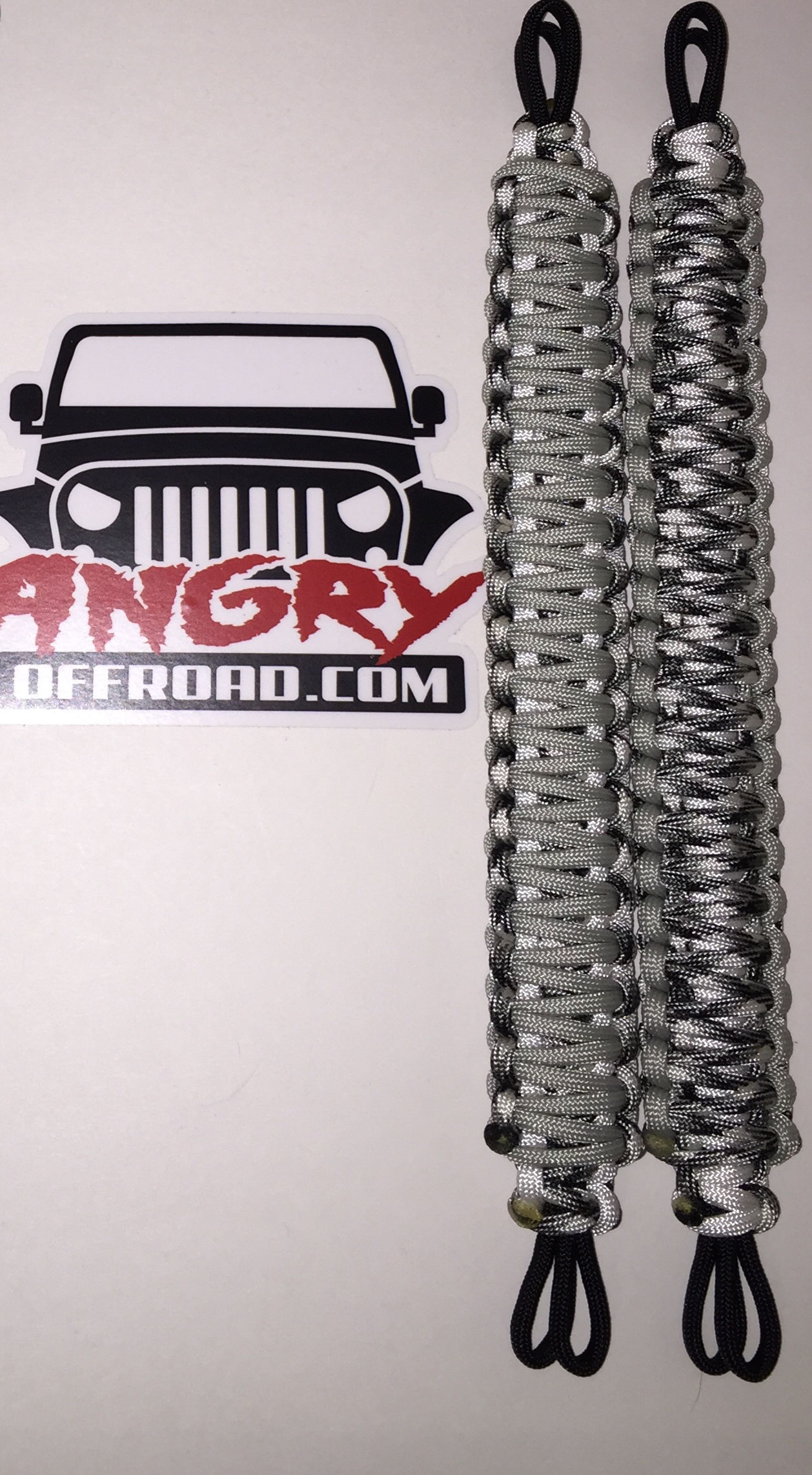 Angry Off Road Products Jeep Paracord Grab Handles