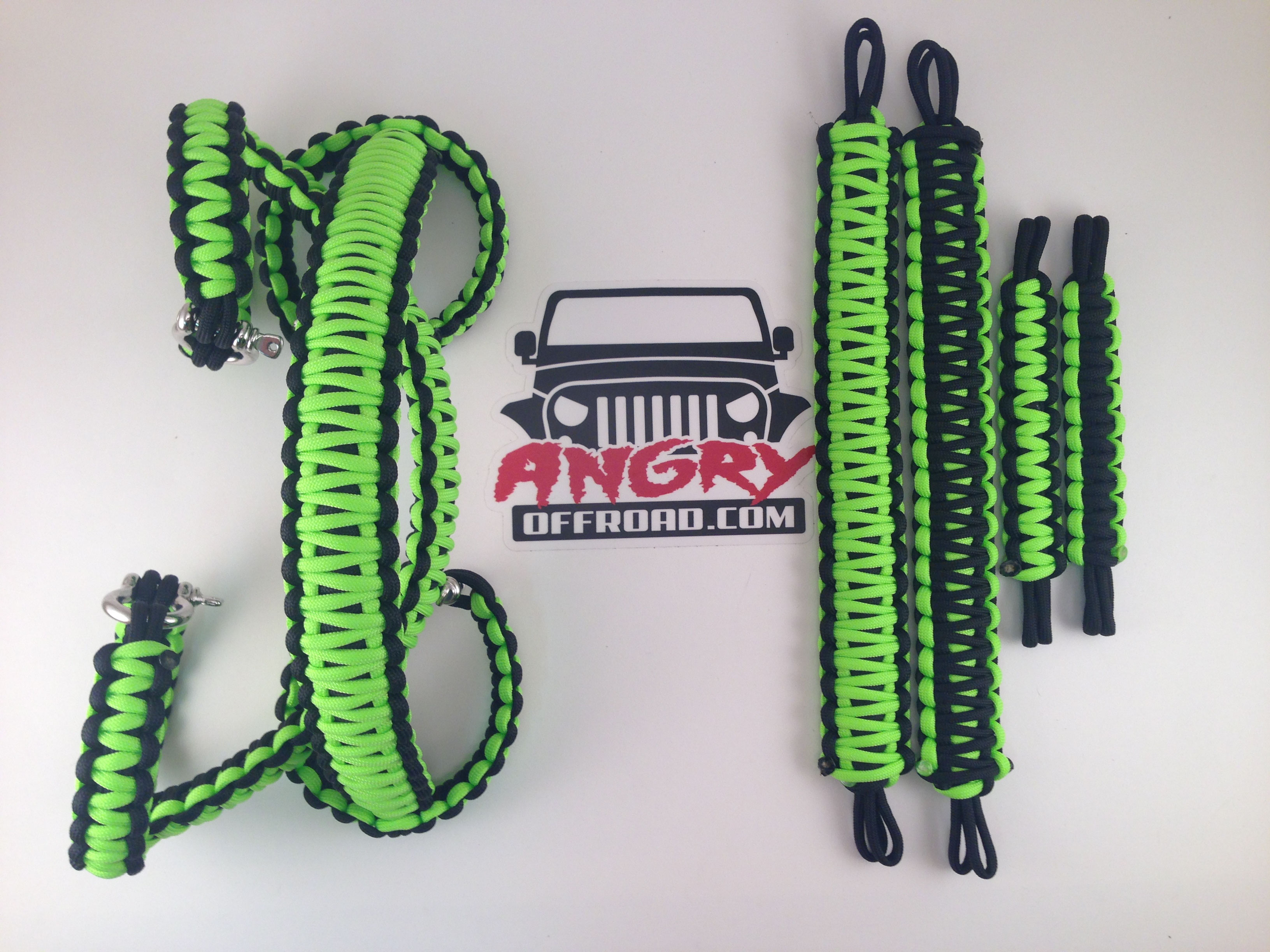 Jeep Tj Grab Handles Paracord For Wrangler Construction Get