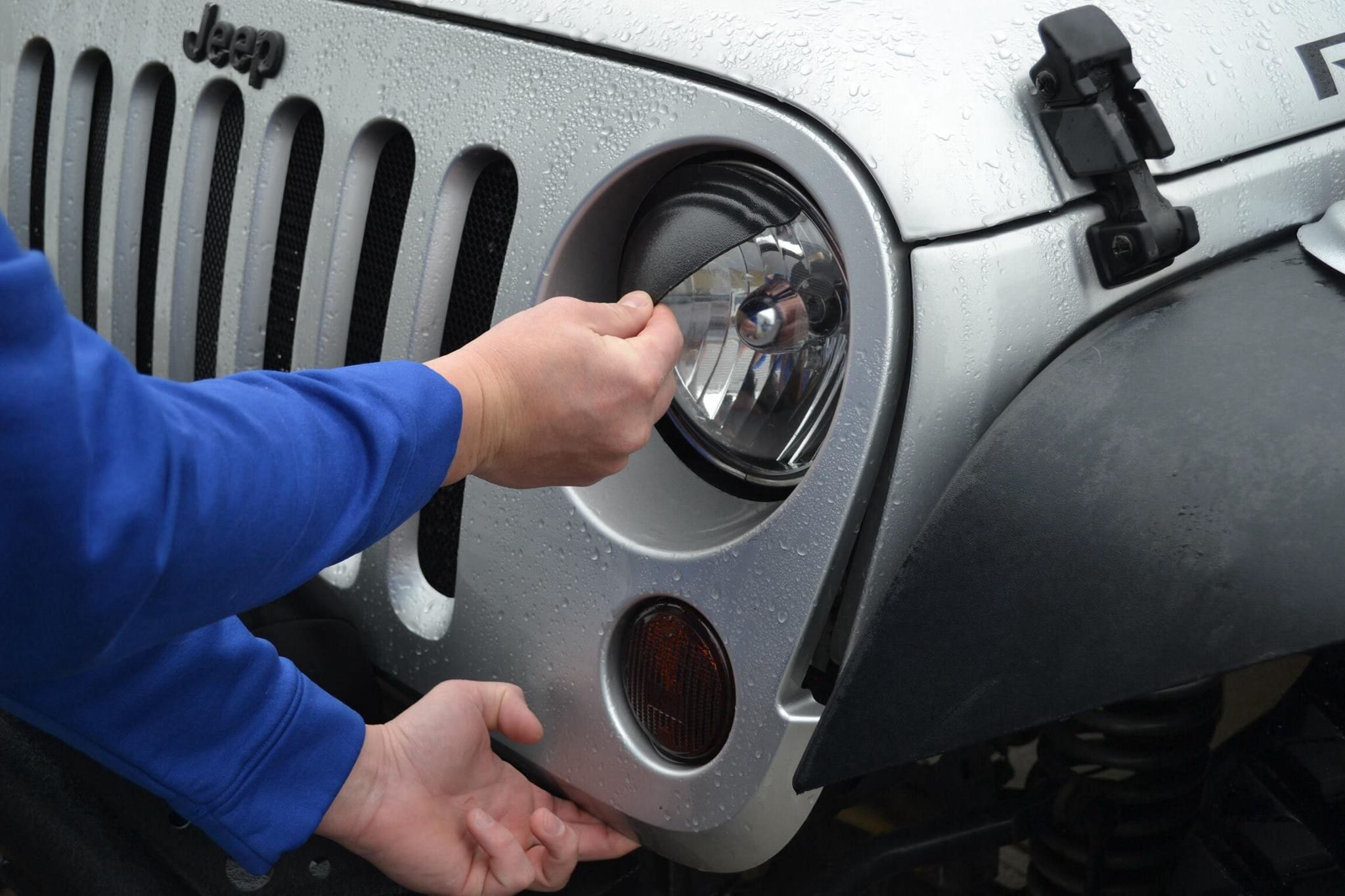 How to Install Jeep Angry Eyes - Angry Eyes Installation - Instructions for Jeep Angry Eyes